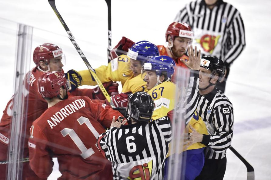 Ruotsi voitti Kööpenhaminassa pelatun A-lohkon.