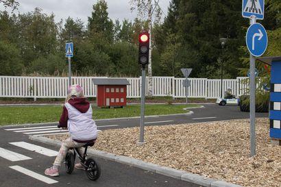 Pyhännällä avattiin liikennepuisto
