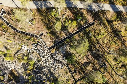 Salpalinja suojasi Vanttajankannaksella saksalaisten poistumisen –  Kuusamossa linjan rakennelmia löytyy läpi pitäjän.