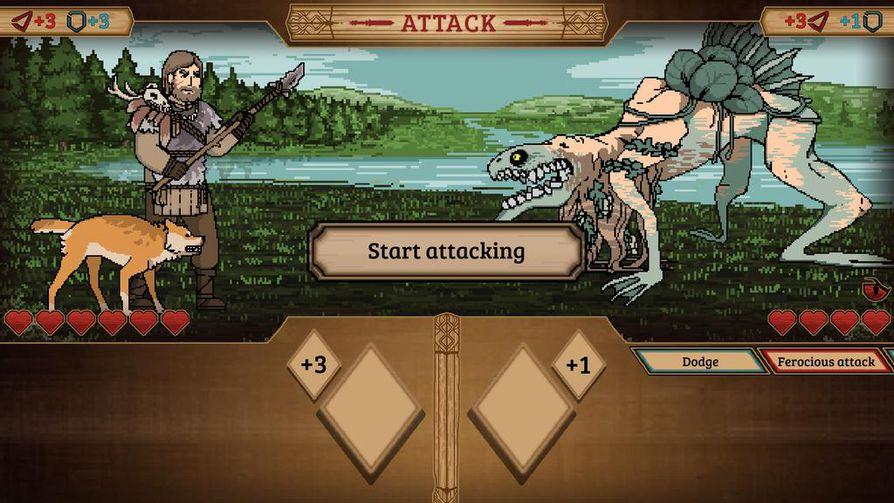 Pelissä käytävien taisteluiden pohjana ovat klassiset roolipelit. Vastaan tulee muun muassa vedenneidosta hirviöksi muotoaan muuttava Näkki, johon on otettu vaikutteita japanilaisesta kauhusta.