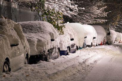Lumi, tuisku ja pakkanen ei autoa hyydytä, jos olet tarkistanut muutaman asian!