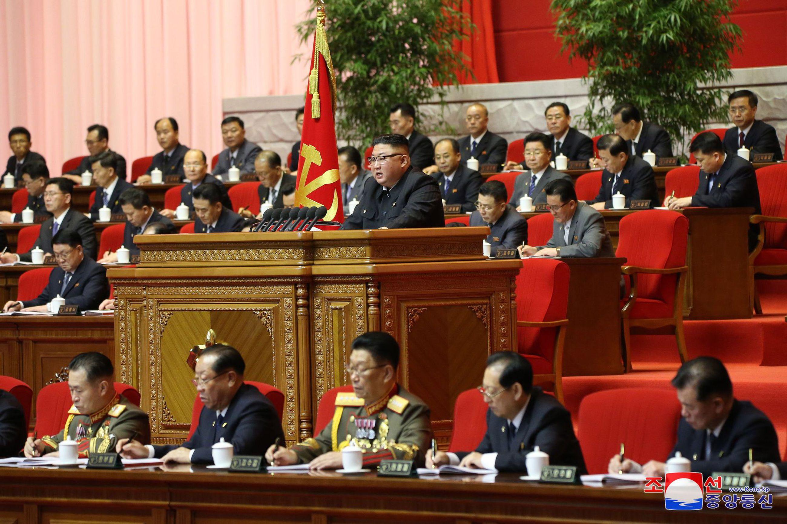 Pohjois Korean Johtaja