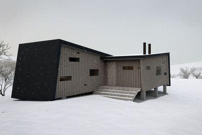 Urho Kekkosen kansallispuistossa palaneen Rautulammen autiotuvan tilalle rakennetaan kolme arkkitehdin suunnittelemaa rakennusta – Katso kuvat