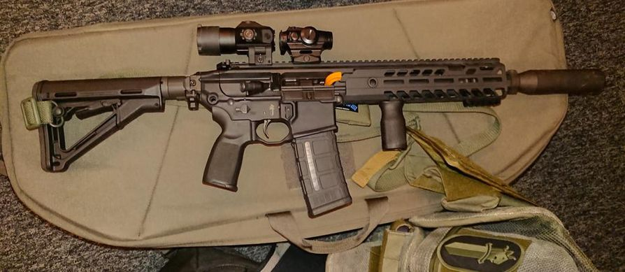Poliisin uusi partiokivääri SIG Sauer MCX