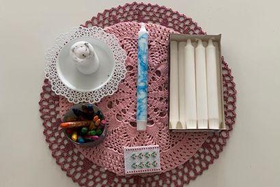 Tee-se-itse: Marmoroidut kynttilät