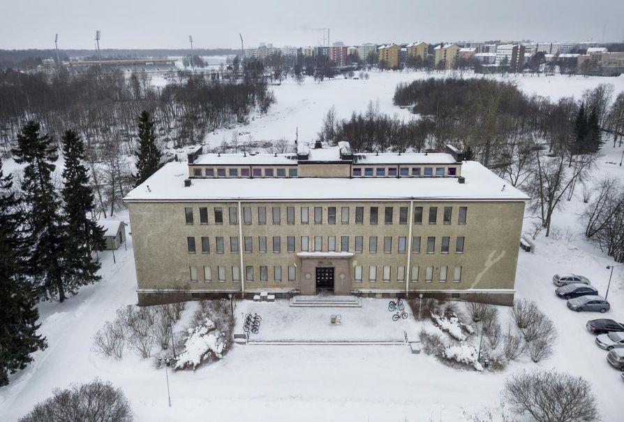Pohjois-Pohjanmaan museon kellarikerroksessa on tehty sisäilmatutkimuksia. Arkistokuva.