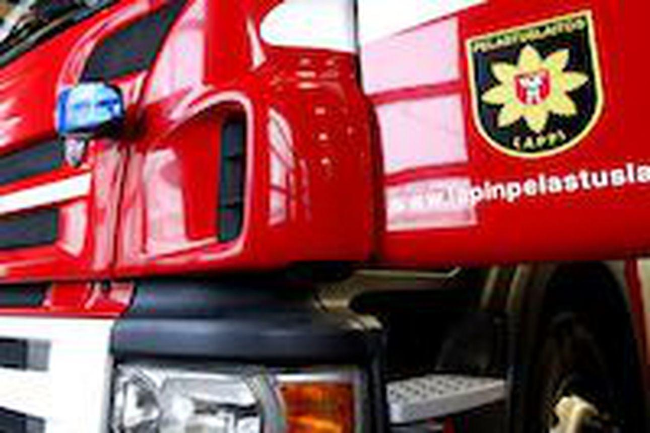 Liikekeskuksen ravintolan varastossa syttyi tulipalo Keminmaassa – pelastuslaitos ja poliisi selvittävät palon syttymissyytä