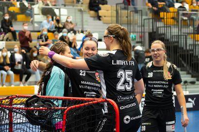 Oppi oli mennyt Rankoilla Ankoilla perille – Laura Liimatta pelaa oululaisjoukkueen takalinjoilla uransa tehokkainta liigakautta