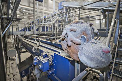Lisää rojua hihnalle Ruskon lajittelulaitokseen – Ouluun voitaisiin esimerkiksi tuoda rakennusjätettä Norjasta