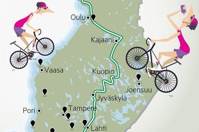 Suomi on pyörämatkailijan toivemaa, mutta minne mennä ja miten retkeen kannattaa varautua?