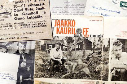 Jaakko Gauriloff polki sateen läpi Nellimistä Ivaloon nähdäkseen Olavi Virran – kymmenen vuotta myöhemmin laulava kolttapoika nousi idolinsa kanssa samalle lavalle