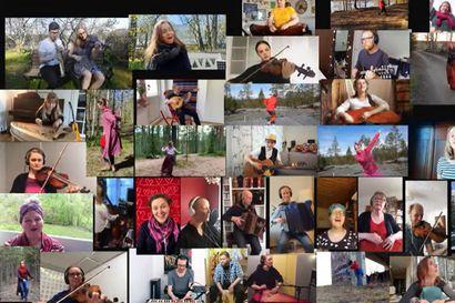 Suomalaiset kansanmuusikot julkaisivat Coronation polskan – videolla tanssii iso joukko Oulusta valmistuneita tanssin ammattilaisia