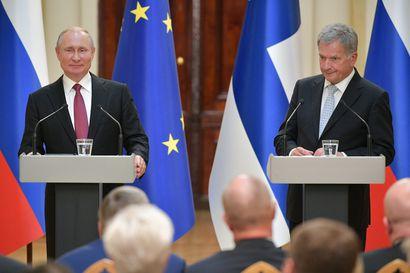 Sauli Niinistö ja Vladimir Putin kävivät pitkän puhelinkeskustelun – presidentit keskustelivat Suomen ja Venäjän suhteiden lisäksi Navalnyin tapauksesta