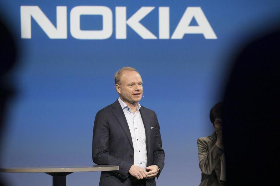 Pekka Lundmark ottaa Nokian toimitusjohtajan tehtävän vastuulleen syksyllä.