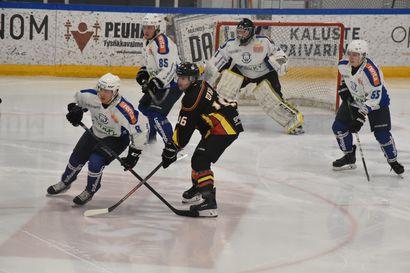 Kuusamossa pelataan jääkiekkoa sunnuntai-iltana - PaKa jäi alakynteen Yliveskassa