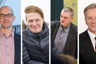 Nimet julki – joku näistä neljästä valitaan Kemin kaupunginjohtajaksi