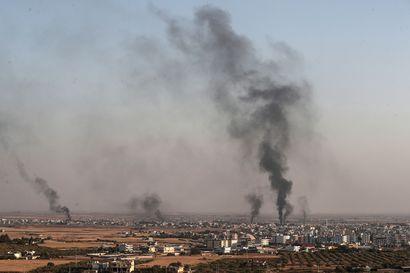 YK: jo 100000 ihmistä on paennut Syyriassa – Yhdysvalloissa viritellään usealla taholla Turkin vastaisia pakotteita