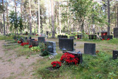 Hautausmaan käyttösuunnitelmasta kyselleelle ja kaikille muillekin asiasta kiinnostuneille