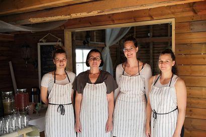 Ritolat kokeilevat Leskelässä pop up -kahvilan pitoa –tänä kesänä kaksi kahvilapäivää, ensi suvena jatketaan