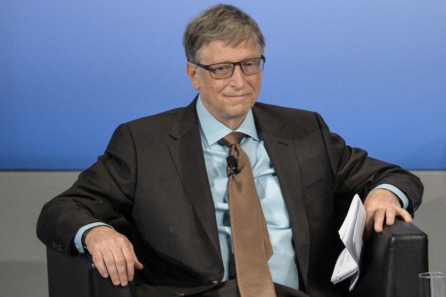 Microsoftin perustaja Bill Gates on maailman rikkain ihminen.