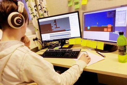 Kertolaskut voivat olla hauskoja - nuoret kehittivät Matikkapeli mobiilisovelluksen