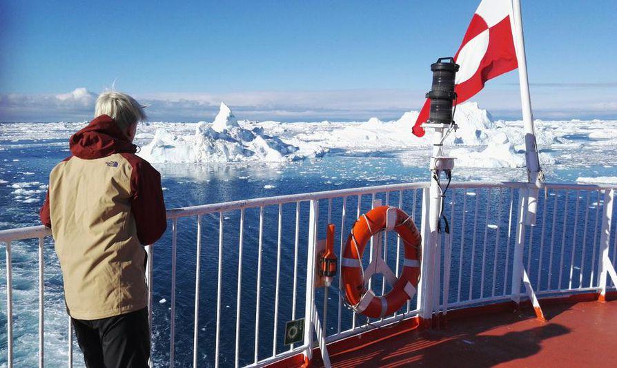 Jäätikön sulaminen huolestuttaa tutkijoiden lisäksi alkuperäiskansoja. Arkistokuva.