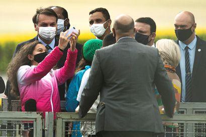 Brasilian presidentti Bolsonaro sai koronavirustartunnan