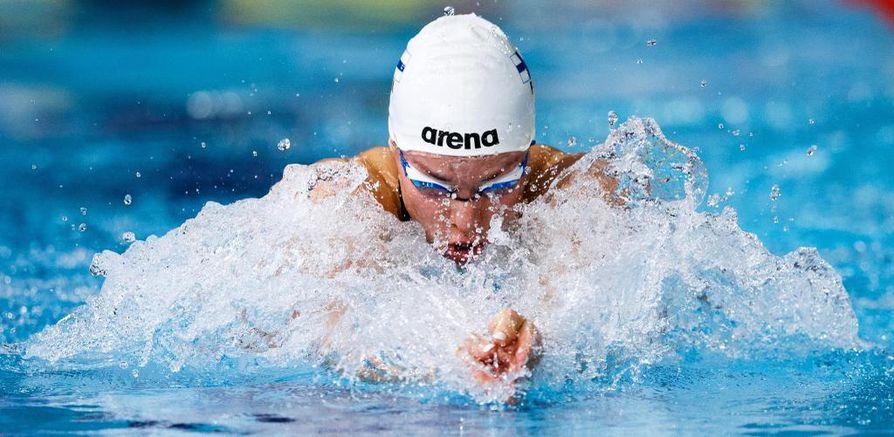 Laukkanen ui Glasgow'ssa EM-finaalissa pronssia ajalla 58,62.