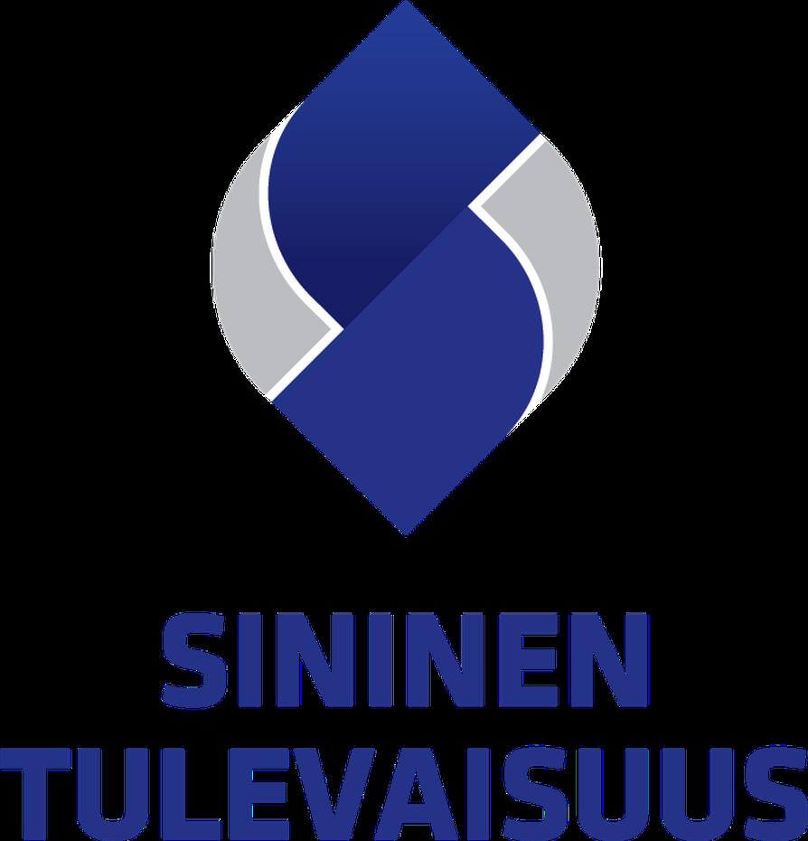 Sinisen tulevaisuuden uusi logo