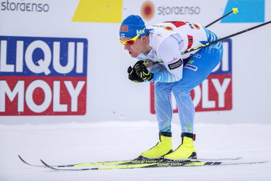 Olympialaisten kultamitalimies Sami Jauhojärvi saattaa jatkaa uraansa vielä seuraaviin olympiakisoihin.
