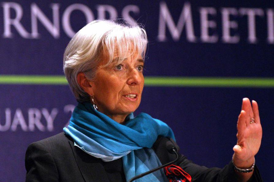 Lagarde on IMF:n johtajana yksi tunnetuimmista eurooppalaisista.