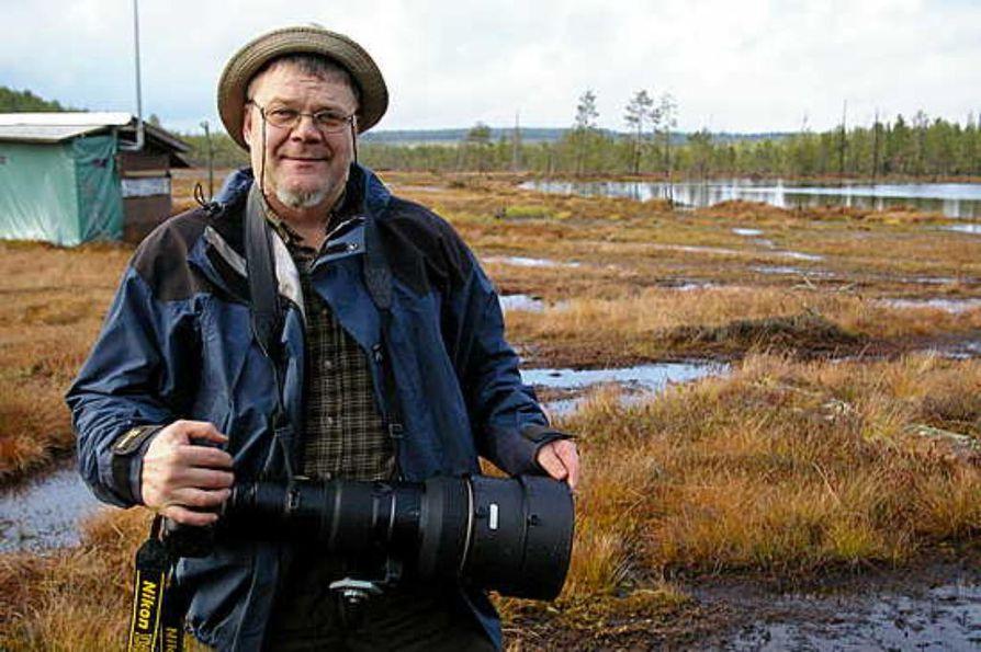 Luontokuvaaja ja matkailuyrittäjä Lassi Rautiainen sai Kajaanin kulttuuripalkinnon.
