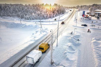 Yöllä oli pohjoisessa kylmää, mutta talven pakkasennätyksiä ei syntynyt