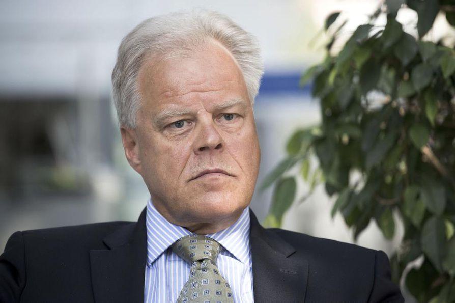 OAJ:n puheenjohtaja Olli Luukkainen. Arkistokuva.