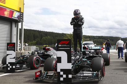 Bottaksen isku jäi tekemättä – Hamilton ongelmitta voittoon