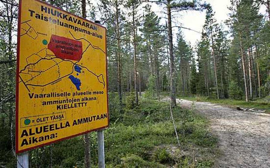 Hiukkavaaran Maastoissa Piilee Vaaroja Oulu Kaleva Fi