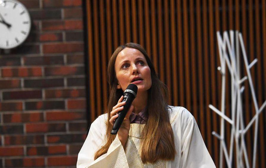 Sherin Khankan on feministi, aktivisti ja ensimmäinen pohjoismaalainen imaami.