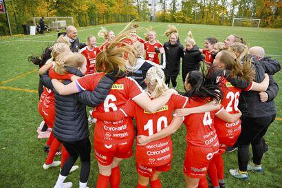 """Liigaportti avautui ONS:lle naisten Ykkösen dramaattisella päätöskierroksella – """"Pelaajat ovat tämän suuren tuloksen ansainneet"""""""