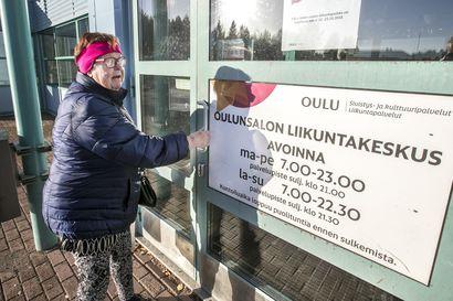 """JHL:n ja Jytyn lakko sulki Oulunsalon liikuntakeskuksen – kaupunki toivoo, että perheet järjestäisivät loppuviikolle lapsen hoidon itse: """"Poissaolopäivät hyvitetään asiakasmaksuissa"""""""