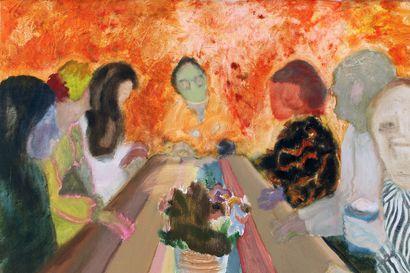 Taiteilijapari maalasi uuden normaalin – Raisa Raekallion ja Misha del Valin teokset ilmentävät uutta normaalia, jonka soisi toteutuvan laajemminkin