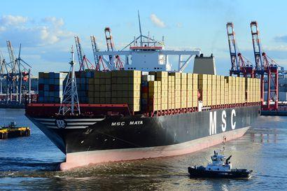 Kulutustavaroita Eurooppaan tuova MSC-laivayhtiö päästelee vuodessa kuin iso hiilivoimala