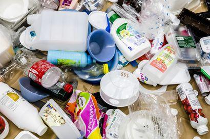 Tervolassa voi jatkossa kierrättää pakkausmuovia