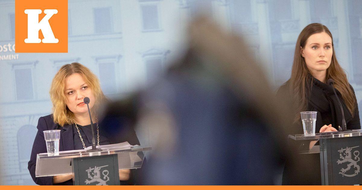Pääministeri Marin: `Nyt on syytä tehdä ryhtiliike`  poikkeusoloja...
