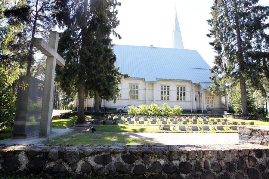 Oulujoen kirkko.
