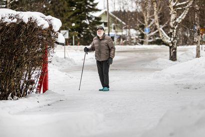 Eino Alasuutari, 86, hämmästyi, kun tuttu aura ei enää tullutkaan – kotona asuvat ikäihmiset tuskailevat lumitöiden kanssa, sillä voimat eivät riitä tai sukulaiset ole aina paikalla