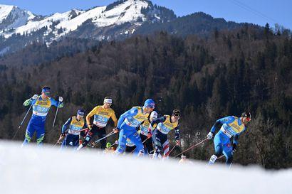 Koronakupla puhkesi MM-hiihdoissa: Italia vetäytyy kisoista, Norjan mäkihyppytähdellä tartunta