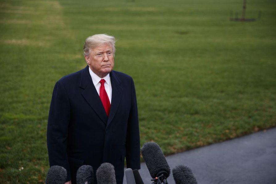 Yhdysvaltojen presidentti Donald Trump sanoi, ettei tälle viikolle suunniteltu tapaaminen Venäjän presidentti Vladimir Putin kanssa välttämättä toteudu.