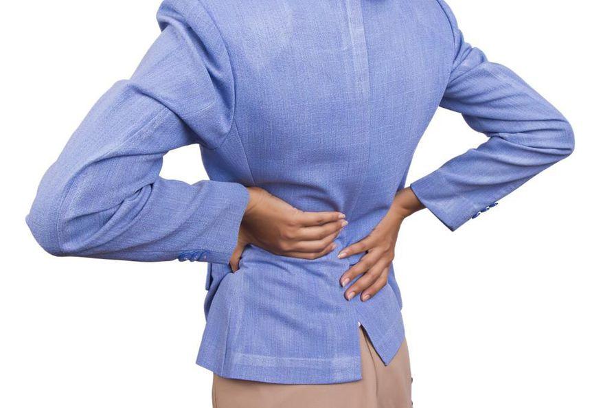Välilevyjen rappeuma on usein selkäkipujen taustalla.