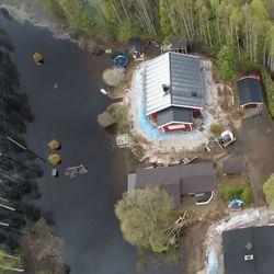 """""""Ei oikein uskonut, että se nousee näin paljon"""" – Katso videolta, miten Rovaniemen tulva eteni"""