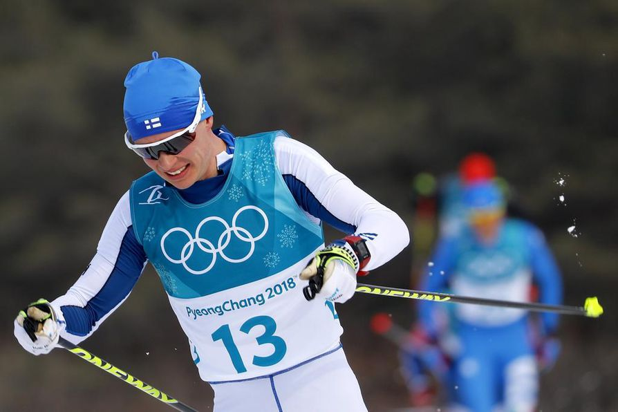 Matti Heikkinen oli olympialaisten päätösmatkalla 25:s.